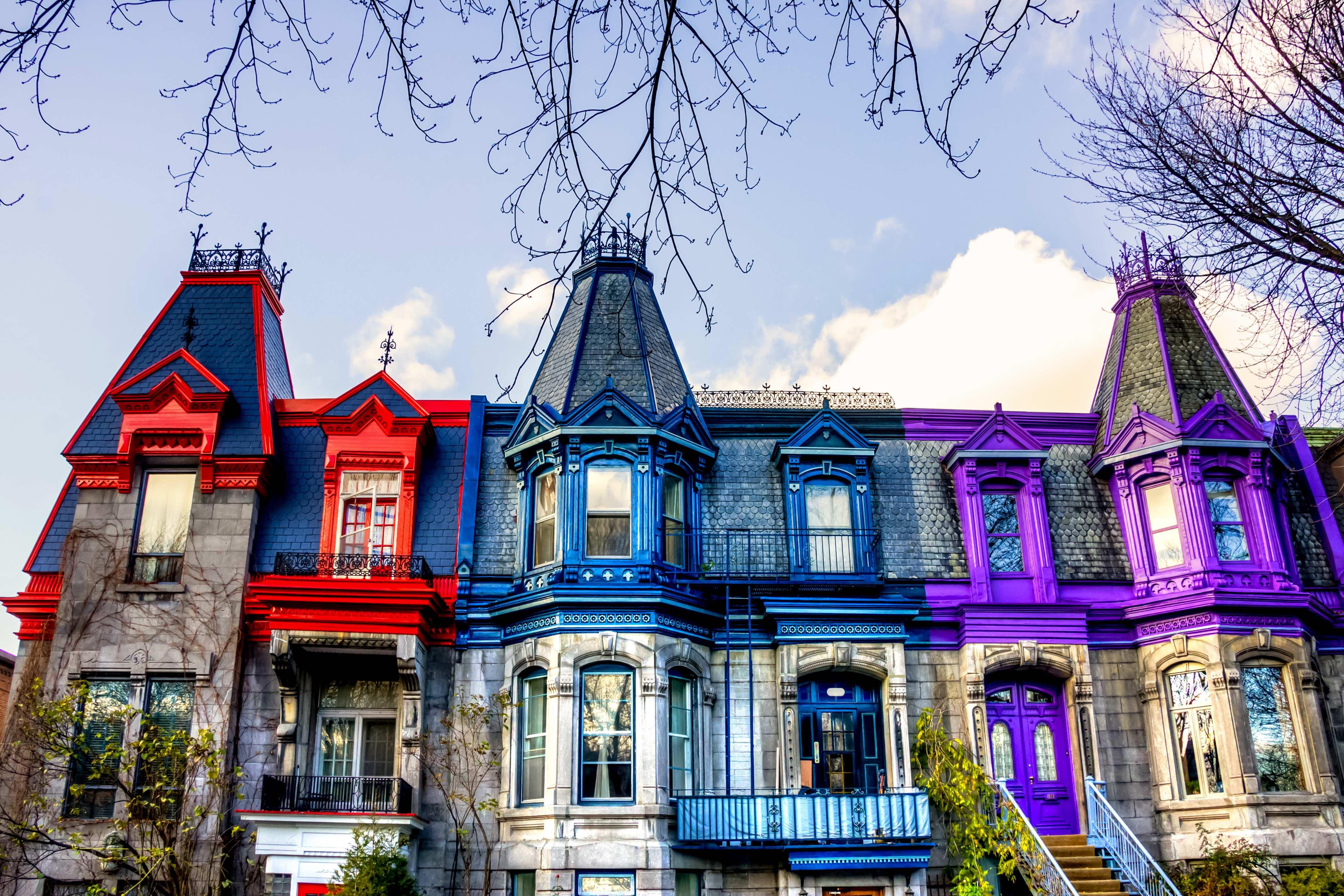 Montéal_Québec_Canada_Le_Plateau_Mont_Royal